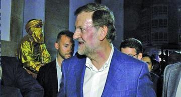 Rajoy mantiene agenda pese a las agresiones que sufrió