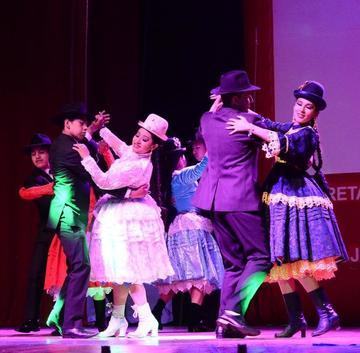 Elencos de danza integran Bolivia