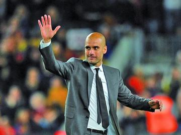 Guardiola entrenará al Manchester City