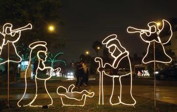 Belén celebra la Navidad con  mayores medidas de seguridad
