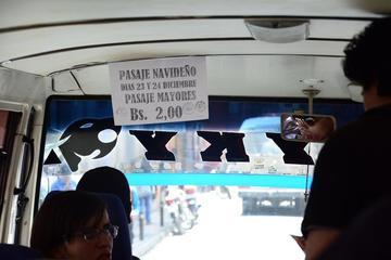El pasaje en microbuses y minibuses vuelve a la normalidad