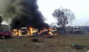 Una explosión deja cerca de un centenar de muertos en Nigeria