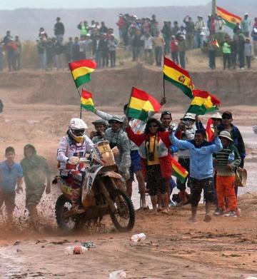Bolivianos están listos para el Dakar