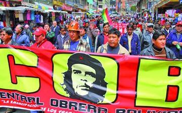 La COB analizará en congreso en Potosí si apoya reelección de Evo