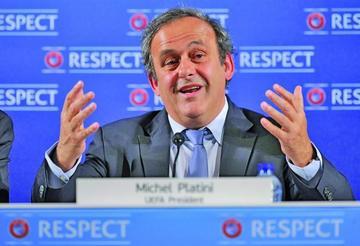 Platini se defiende de las acusaciones de corrupción