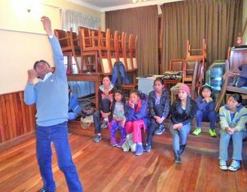 Hugo Pozo inicia curso de teatro