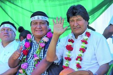 Evo Morales desafía al Tribunal Supremo Electoral a sancionarlo