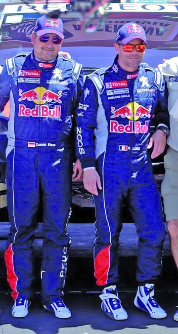 Loeb y Barreda lideran la prueba