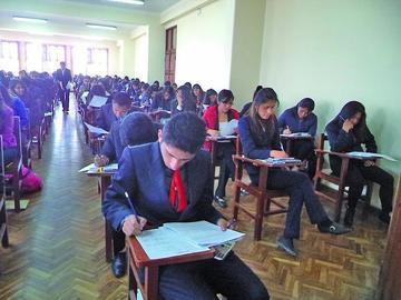 Habrá otro examen de ingreso el 12 de febrero