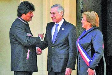 Chile quiere hablar del futuro y Bolivia insiste ir hacia el pasado