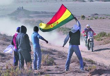 Los bolivianos hacen respetar su localía
