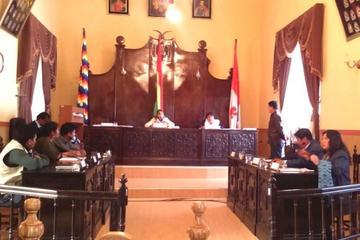 Concejo Municipal de Potosí reinstala sesión para conformar comisiones