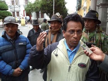 Pobladores de Puna amenazan cerrar caminos desde mañana