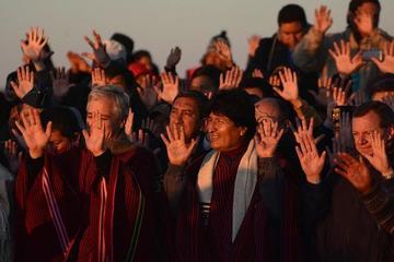 Inician actos conmemorativos por los diez años de gobierno de Evo Morales