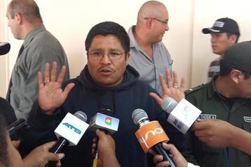 Juez de Sucre envía a la cárcel a ex fiscal Humberto Quispe