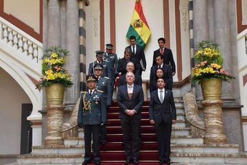 Embajadores presentan sus credenciales en La Paz