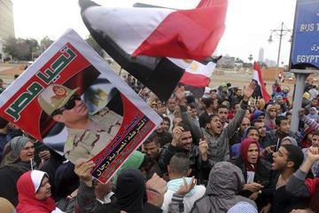 Egipto celebra aniversario de revolución con fuerte seguridad
