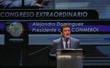 Alejandro Domínguez asume la presidencia de la Conmebol