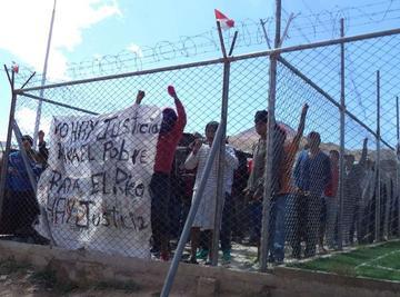 Continúa la medida de protesta en la cárcel de Cantumarca