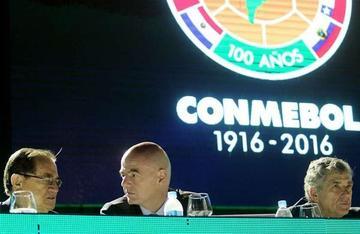 Conmebol apoyará a Gianni Infantino