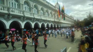 El convite de Oruro muestra devoción