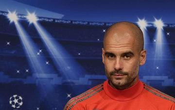 El español Ped Guardiola llega a Manchester City después de cuatro años