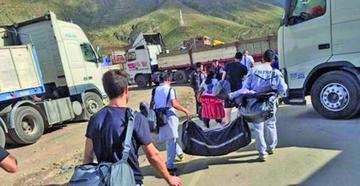 El Tigre está en Potosí tras pasar algunos puntos de bloqueo