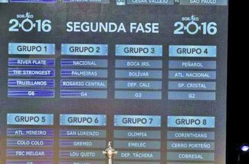 River y Palmeiras abren la otra fase