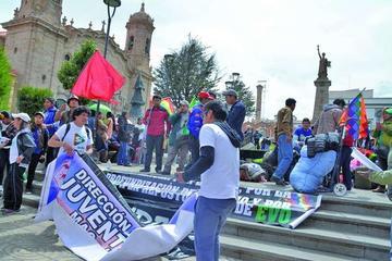 Las campañas por el Sí y el No se tensionan  en Potosí