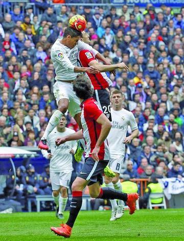 Real Madrid vence al Athletic