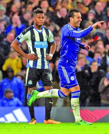 Chelsea se divierte con un el Newcastle