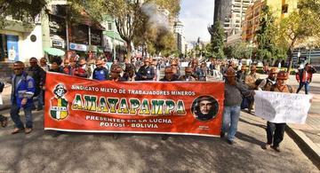 Sindicato de mineros de Amayapampa piden el traspaso de mina de oro