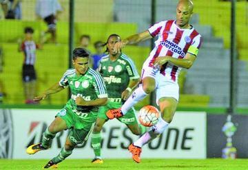 River empata  con Palmeiras