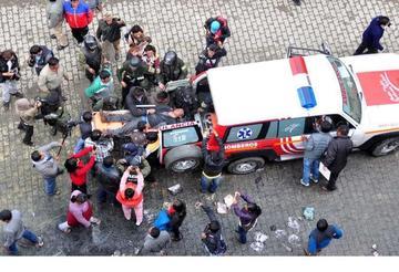 Hay cuatro detenidos por la quema violenta de la Alcaldía alteña