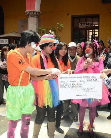 La Alcaldía premia a los ganadores del carnaval