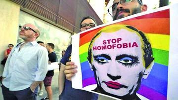 Rechazan ley que imponía multas por manifestar homosexualidad en Rusia