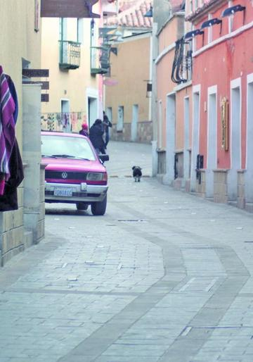 Ola de robos alarma a los vecinos de calle Sucre