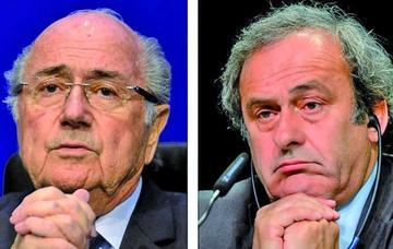FIFA reduce la suspensión de Blatter y Platini