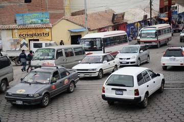 Negocian tramos largos para el servicio de taxis