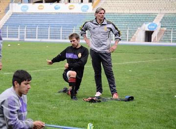 Lapcyzk y Jordán se suman a las prácticas