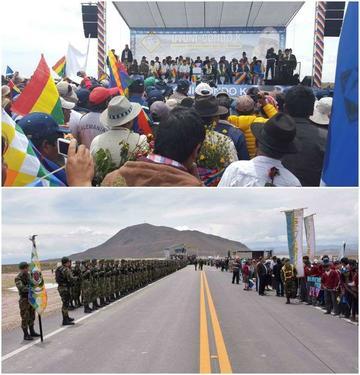 Uyuni ya se conecta por camino asfaltado con Oruro desde ayer