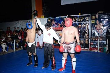 Torneo muestra el potencial de luchadores potosinos en Kick Boxing