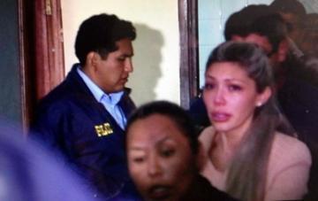 Justicia determina detención preventiva para Zapata y es enviada a la cárcel de obrajes