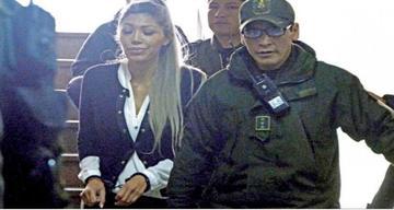 Jueza ordena encarcelar a la expareja del presidente Evo