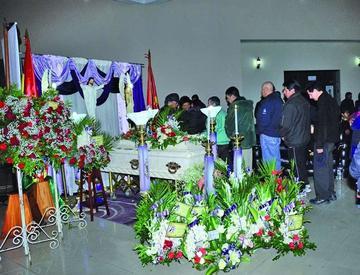 Se llora partida de Pocho Arias Paz, de Savia Andina