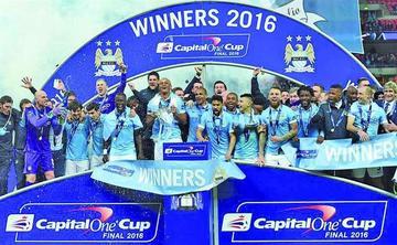 El City logra la Copa de la Liga