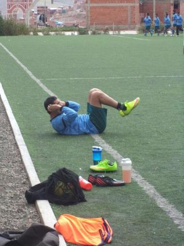 García sufre una contusión en la rodilla izquierda