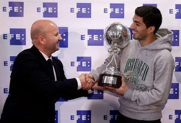 Suárez es elegido el mejor jugador