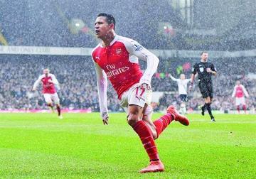 Ospina y Alexis rescatan un punto para el Arsenal