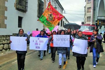 Mujeres marcharán por sus derechos y reivindicaciones